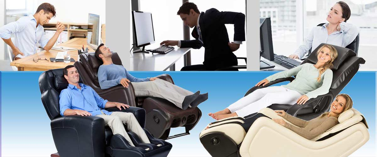 Rent Massage Chairs to Relax and Recharge in Workplace